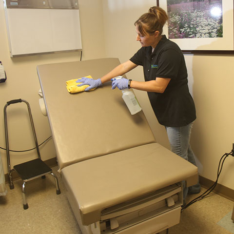 medical cleaning in Fort Collins, CO